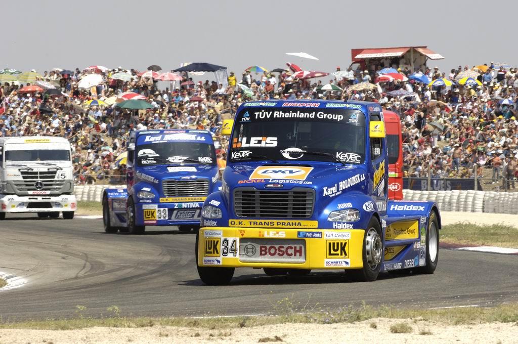 欧洲卡车大赛精彩图片