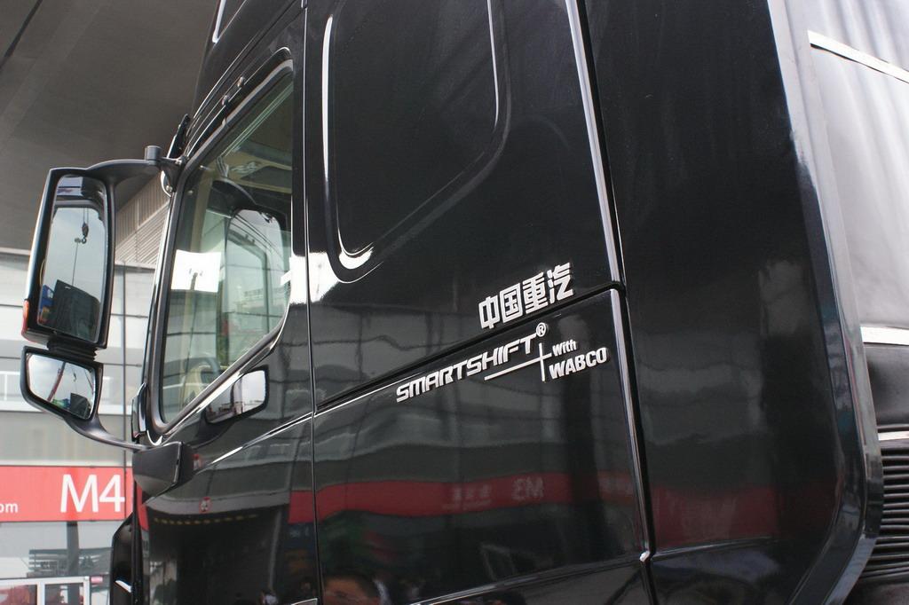 中国重汽展台