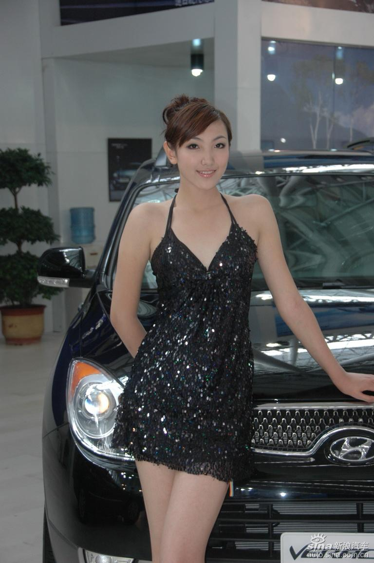 第12届哈尔滨车展美女图