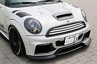 凝固空气的冷煞 MINI COUPE JCW改装
