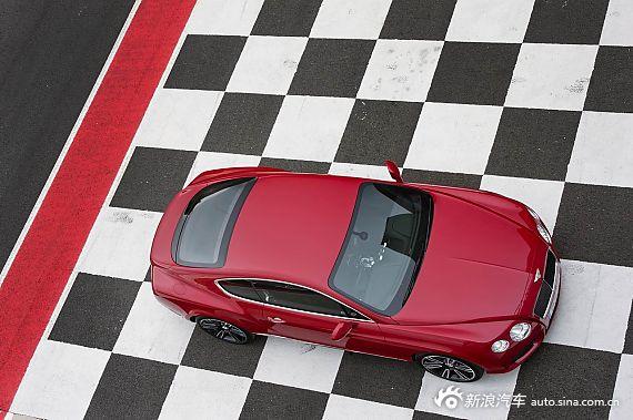 宾利欧陆GT-V8中国红涂装