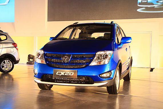 长安CX20新车亮相活动现场