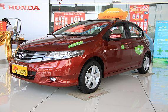 2009款本田CITY锋范1.5L自动精英型