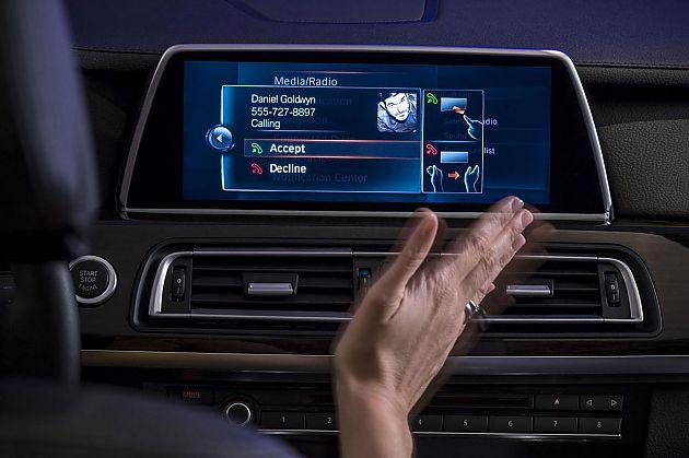 CES:BMW展示新iDrive和TouchCommand系统