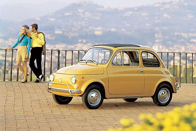 """来自意大利的""""米老鼠"""" 菲亚特500"""