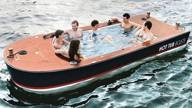 随时随地享受音乐 42000美金的水上浴池