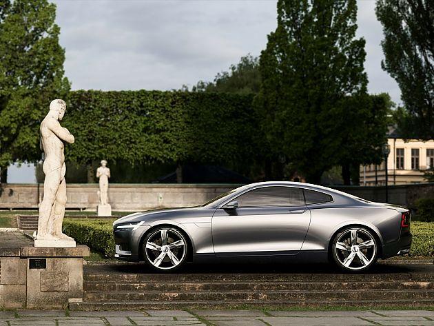沃尔沃Concept Coupe发布 全新设计惊艳亮相