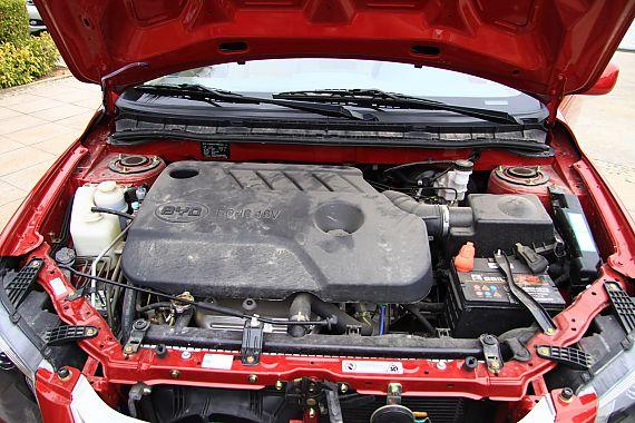 比亚迪L3发动机实拍图