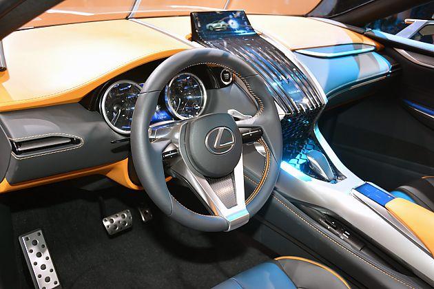 雷克萨斯LF-NX跨界概念车亮相法兰克福