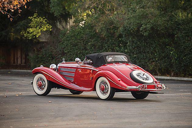 1937年款奔驰540K Special Roadster