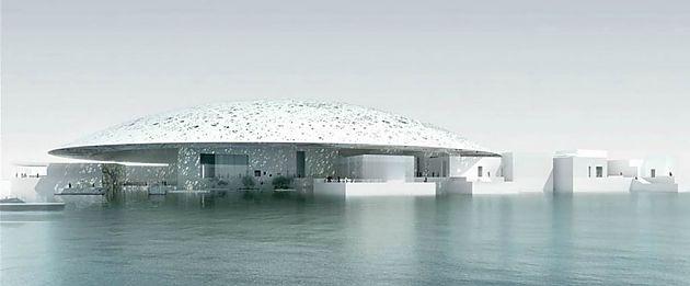 未来建筑 阿布扎比也要建卢浮宫