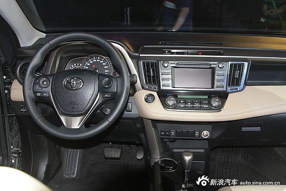 2013款丰田RAV4在珠海上市 图为RAV4内饰
