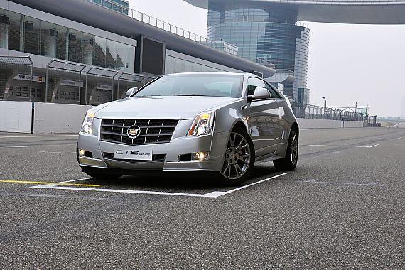 凯迪拉克CTS Coupe外观