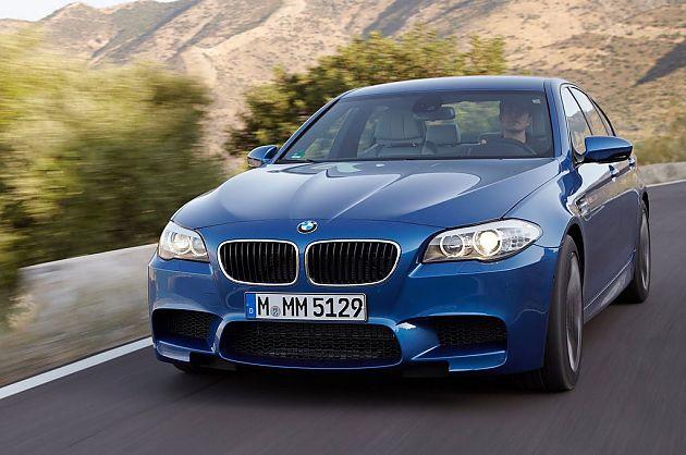 M5最强音 第五代宝马F10 M5高性能轿车