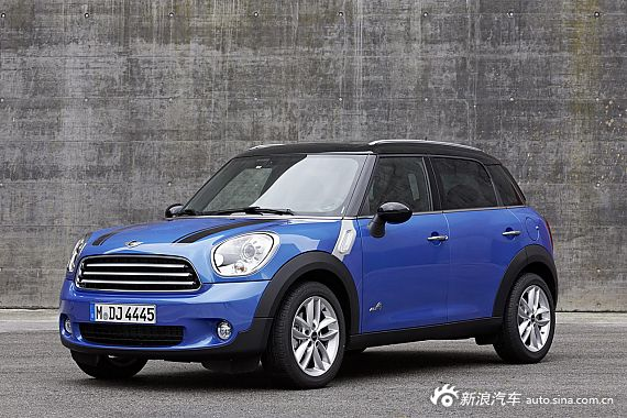 2013款Mini Countryman Cooper ALL4官方图