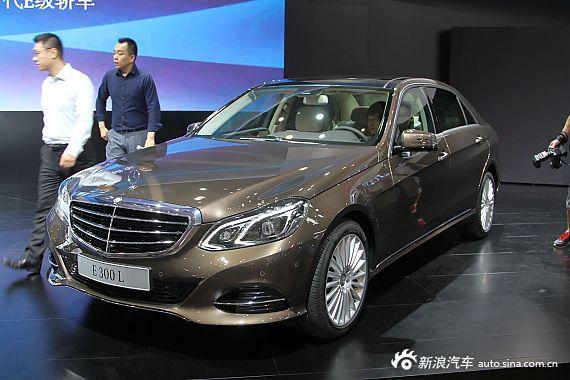 2013成都车展新车实拍:全新奔驰E级