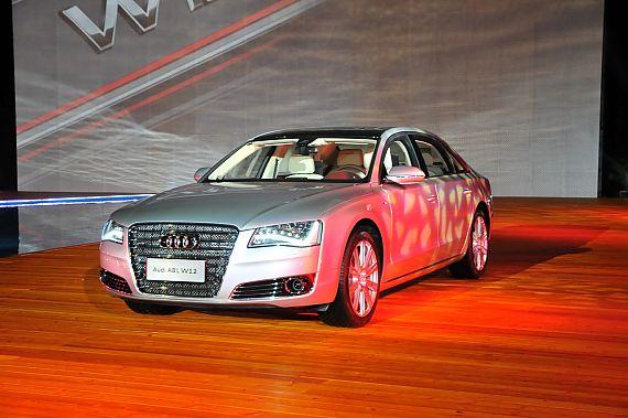 2011款奥迪A8L W12实拍