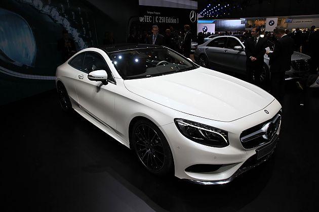 2015奔驰S级Coupe惊艳日内瓦