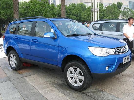 全能狂野SUV陆风X8至尊版深圳优惠8000元
