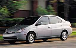 丰田Prius混合动力车