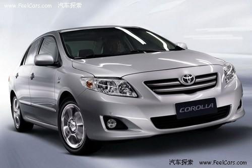 最新上市的卡罗拉安全配置颇高,高端车型标配前后侧气囊。