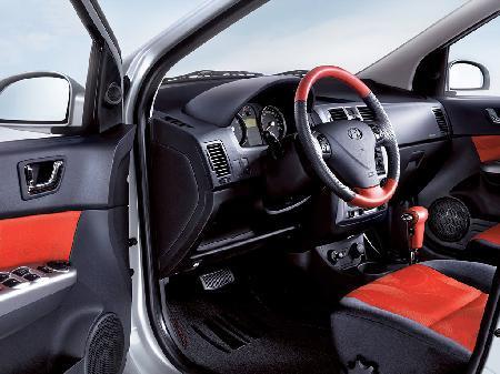 北京现代可能国产小型车GETZ 售价6至8万元高清图片