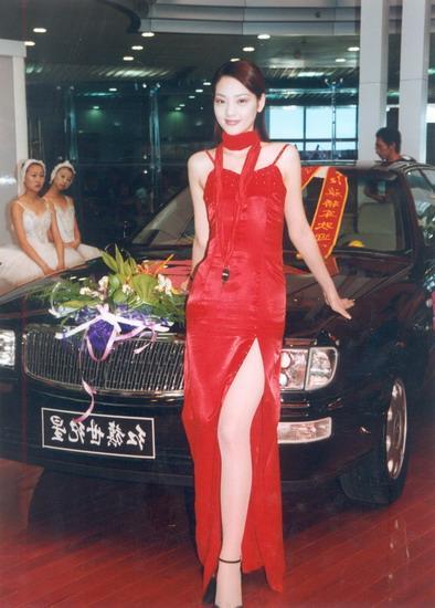 第二届中国国际汽车模特大赛冠军史妍