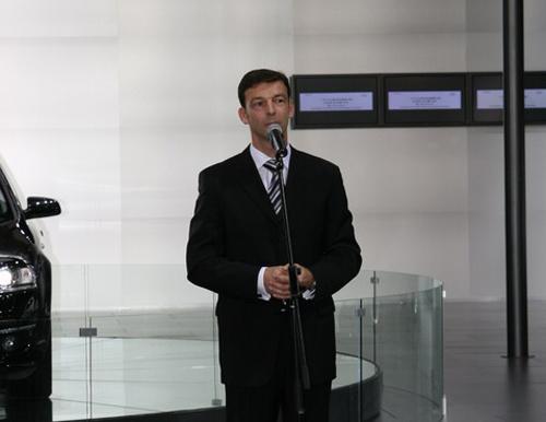 一汽-大众奥迪销售事业部总经理安世豪先生致辞