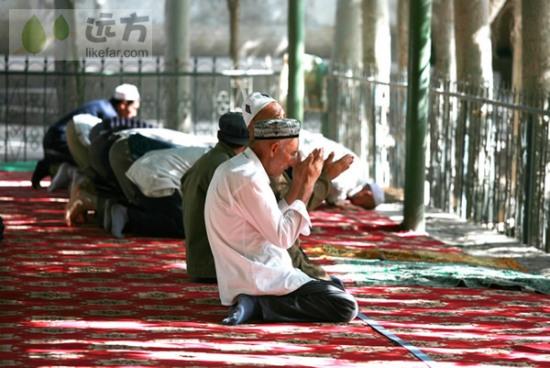 清真寺的礼拜