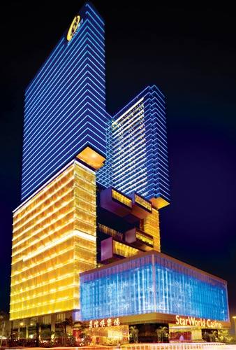 澳门星际酒店及娱乐场外观