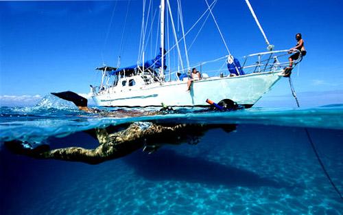 水清、沙幼、椰林、树影、蓝天、一切关于海岛的美好想象都一一实现