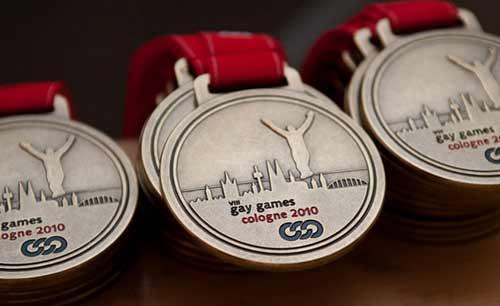 第八届世界同性恋运动会奖牌