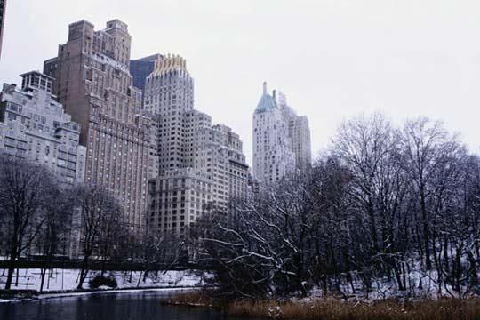 纽约曼哈顿清晨
