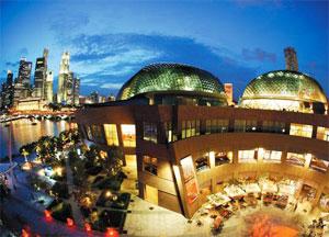 新加坡之不容错过的景点:滨海艺术中心