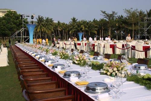 2010博鳌国际旅游论坛摆台