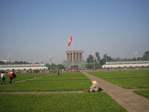 河内的中心广场