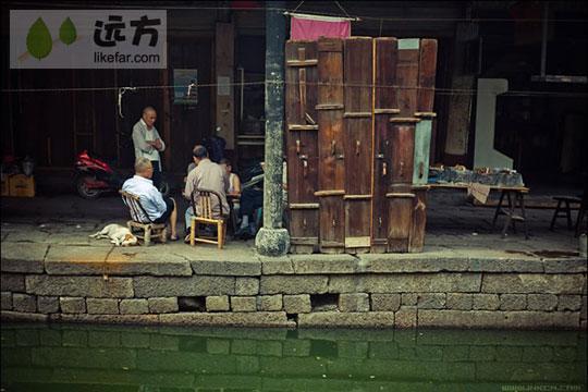 古镇店铺 作者:小林
