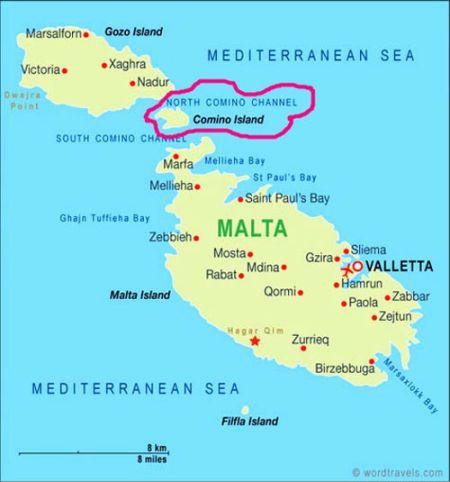 科米诺岛(Comino)是马耳他