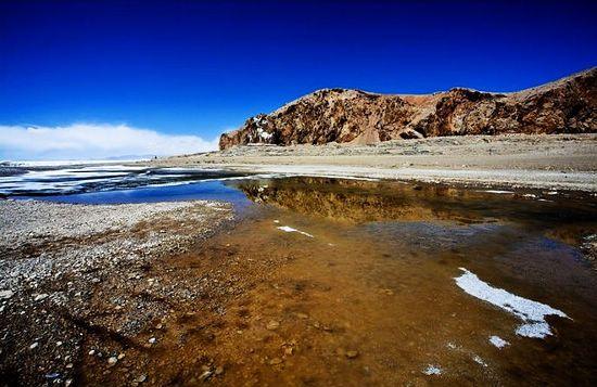 """""""纳木错""""为藏语,是""""天湖""""之意"""