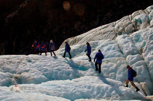 新西兰攀冰之旅