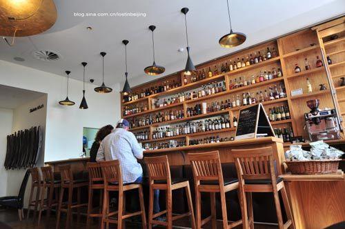 饭店吧台内部结构图