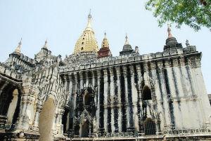 初识缅甸失落之城 日出蒲甘的美色震撼