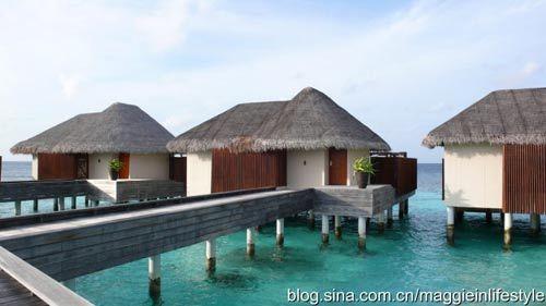 住宿:推荐住宿岛上的沙滩别墅,别墅房间陈设舒适,还靠近海边,可听