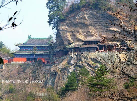 南岩宫两仪殿
