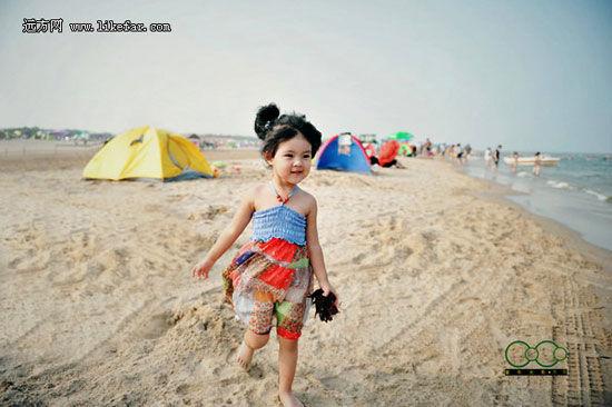 赤脚沙滩上 作者:everpure_bj