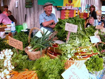 克利文顿(Clevedon)乡村农贸市场