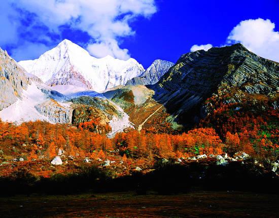 圣洁境地 雪域神山