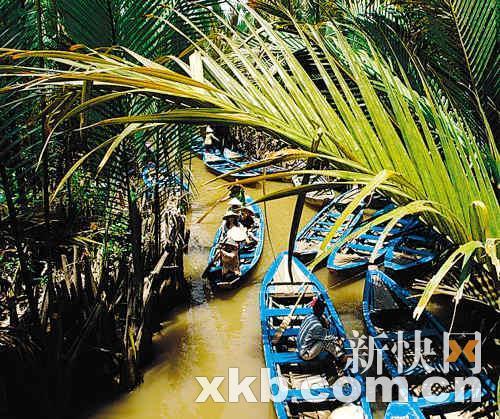 触摸湄公河
