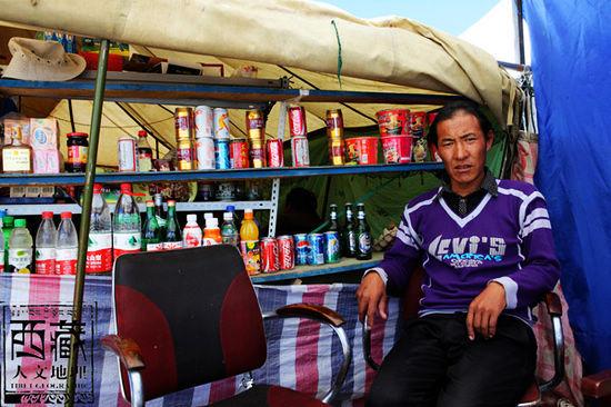 塔尔钦镇可以说是冈仁波钦的门户和游客们在神山面前落脚的第一站
