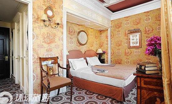 袖珍新古典主义风格的酒店
